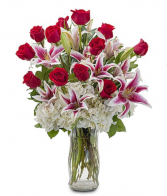 Love And Romance Vase Arrangement  Love and Romance