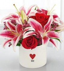 Love and Romance Vase Arrangement