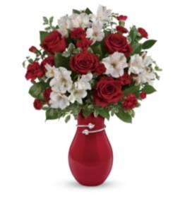 Love at first sight Beautiful keepsake vase