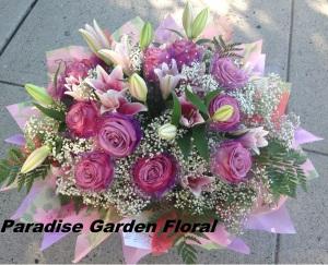 Love at first sight Lavender Rose Arrangement