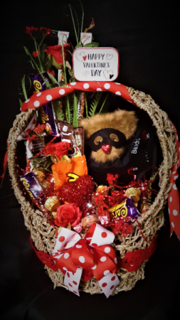 love Bandit gift basket