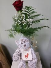 Love Bear Rose