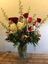 TABLE WEDDING FLOWERS RECEPTION