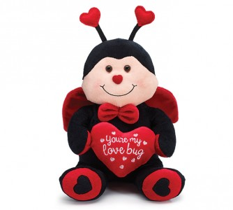 Love Bug Plush Valentine's Day