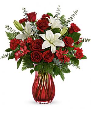 Love Conquers All Bouquet   in Mobile, AL | Le Roy's Florist