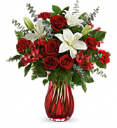 Love Conquers All Bouquet Fresh Arrangement