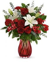 Love Conquers All  Vase Arrangement