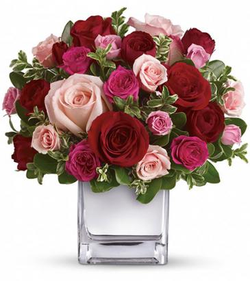 Love  Cube Vase