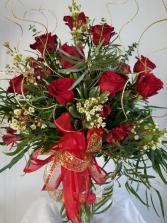 Love Explosion Dozen Roses