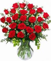 Love Forever 24 Rose arrangement