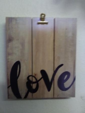 love frame gift