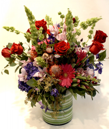 LOVE FROM AROUND THE WORLD ARRANGEMENT