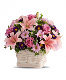 Love Galore Basket Arrangement