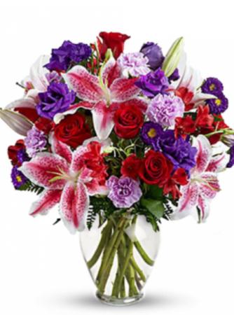 Love hearts bouquet  Valentines