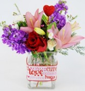 LOVE & HUGS Flower Arrangement