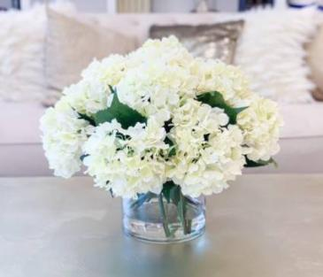 Simple Love hydrangeas