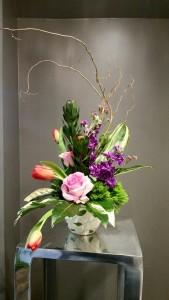 Love In Bloom Fresh Arrangement In Sturgis Mi Designs By Vogts