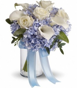 Love in Blue Bouquet Bridal Bouquet
