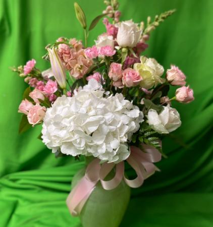 Love in Pink vase