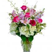 Love in Pink  Vase Arrangement