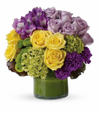 Love in Purple Vase