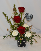 LOVE IS ALL YOU NEED Fresh Arrangement