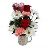 Love Is All You Need Mug Arrangement