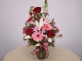 Love is Bliss Vase Arrangement