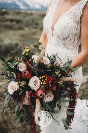 Love is in the air Bridal Bouquet