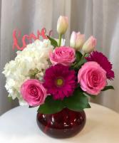 Love Is In The Air  Vase Arrangement