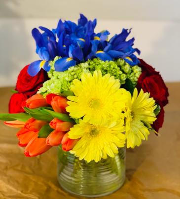 Love is Love Flower Arrangment Vase