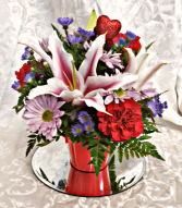 Love Is Loving You Lily Bouquet