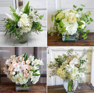 Mixed Bouquet of White