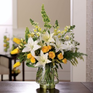 Love is Splendor Vase Arrangement