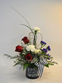 Love is Sweet  Flower Arrangement