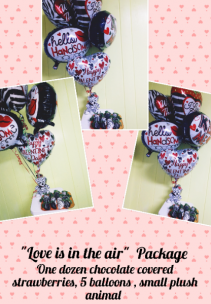 Love is in the air Package  Balloon package