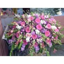 Love & Loss Casket Spray  in Bronx, NY | Bella's Flower Shop