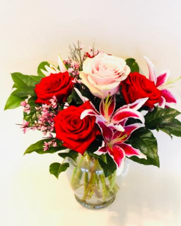 LOVE LOVE LOVE YOU! Floral Arrangement