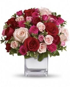 Love Medley Bouquet Valentine's Day Arrangement