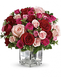 Love Medley Bouquet with Red Roses Bouquet