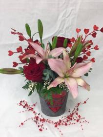 Love N' Lace Floral Arrangement