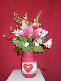 Love-N-Lace vase
