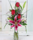 Love Note Vase Fresh Arrangment