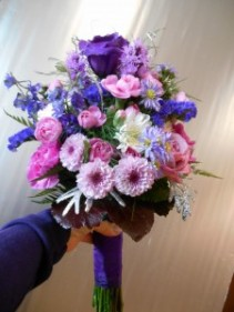 Love of Lavender Clutch Bouquet
