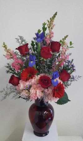 Love Overflowing Vase Arrangement