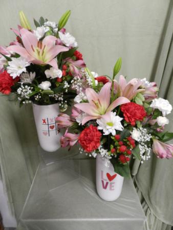 Love Potion Vased Arrangement