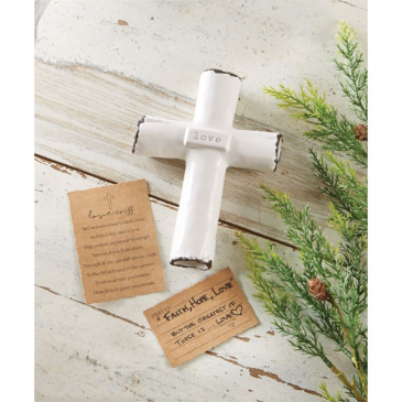 Love Prayer Cross Mud Pie Love Prayer Cross Mud Pie