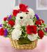 Love Puppy basket