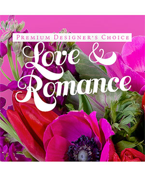 Love & Romance Bouquet Premium Designer's Choice in Osage, IA | Osage Floral & Gifts