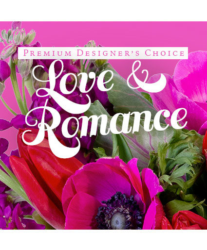 Love & Romance Bouquet Premium Designer's Choice